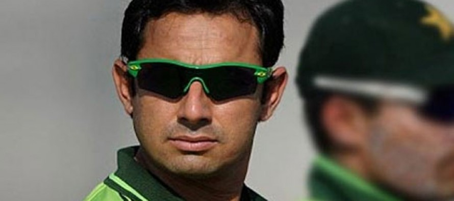 Criticizing  the Board and ICC costs Saeed Ajmal