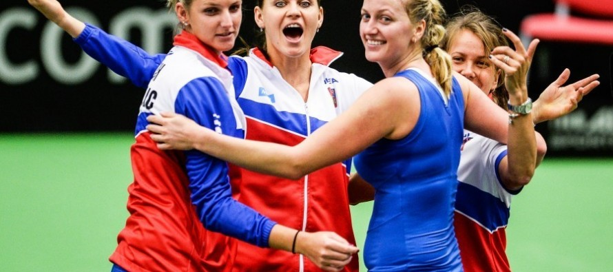 Pliskova shines as Czechs win fourth Fed Cup in five years