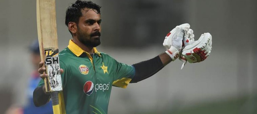 Another record for Hafeez