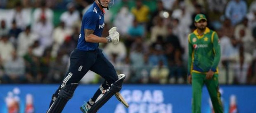 Ton-up Hales leads England to 95-run win over Pakistan