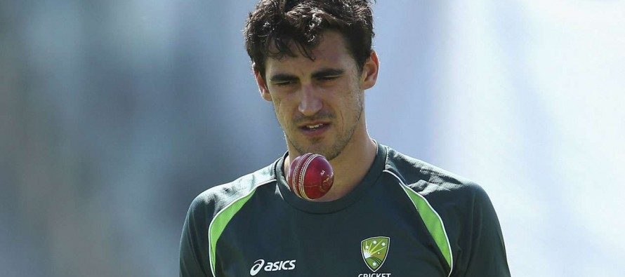 Starc offers no timetable for return