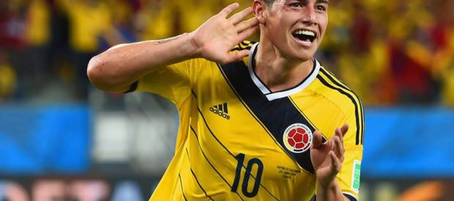 James strikes for Colombia as deluge sinks Brazil-Argentina