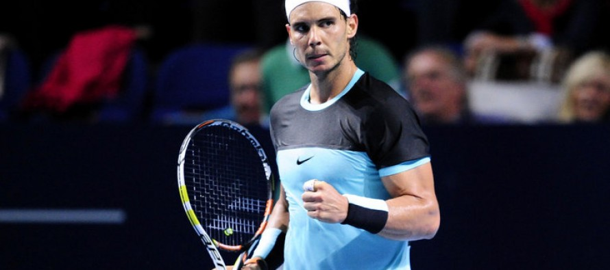 Rafa Nadal confident ahead of ATP world tour finals