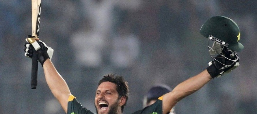 Afridi wants cricket with India, any time, any place