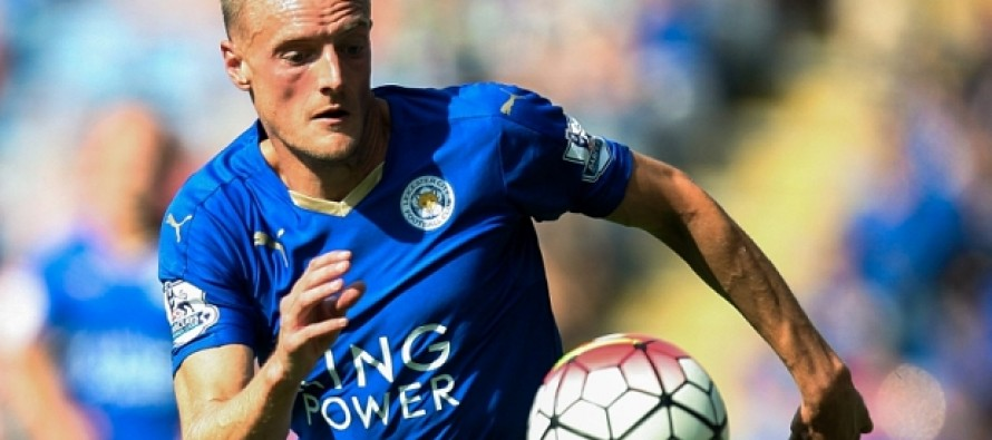 From factory floor to record books for Leicester's Vardy