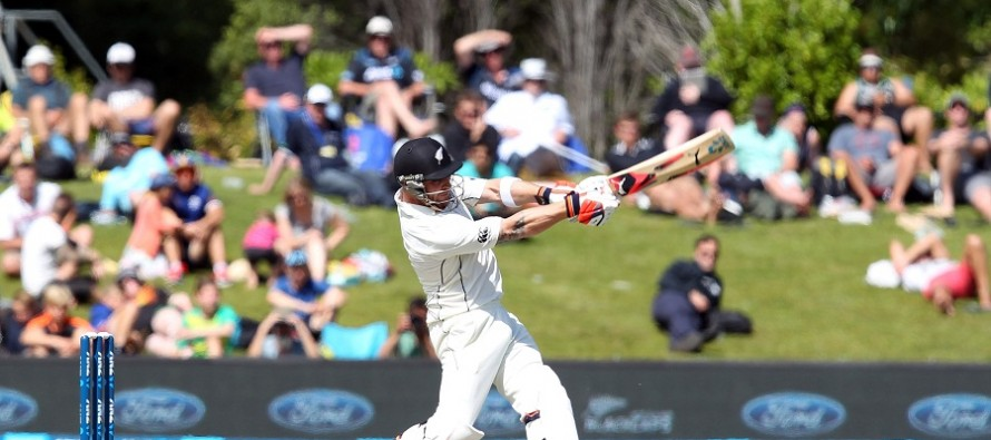Baz smacks six number 100 in test matches