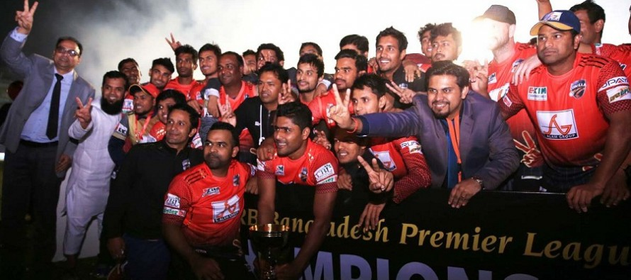 Comilla Victorians crowned champions