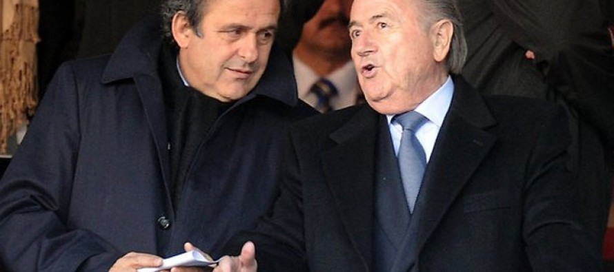 Blatter, Platini vow to fight eight year bans