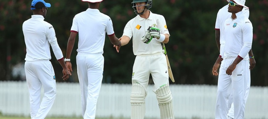 Windies humbled by 10 wickets in Test warm-up