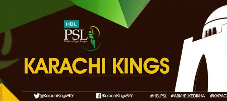 Karachi Kings team on the rise