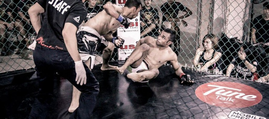 MMA fighter makes nation proud