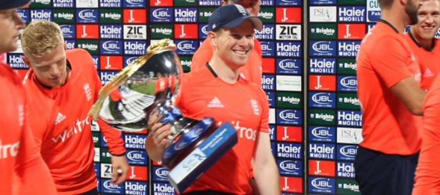 Morgan says England's T20 progress 'exciting'