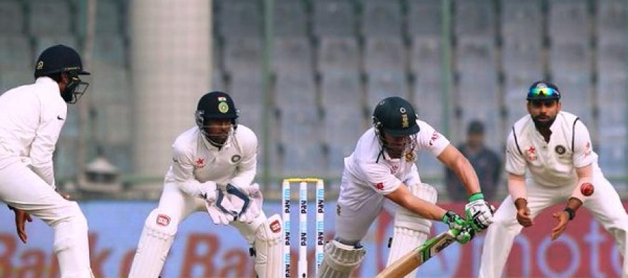 South Africa 94-3 at lunch in final India Test