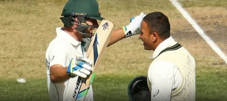 Khawaja, Burns tons as Aussies maintain misery for Windies