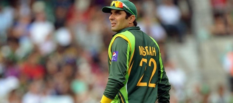 Misbah disappointed on Pak-India series cancellation