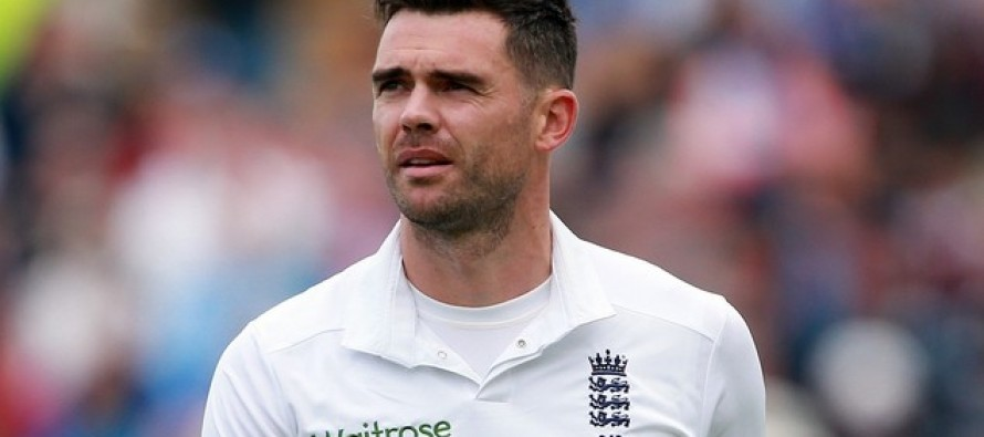 England's Anderson out of first S. Africa Test
