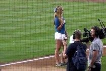Girl Throws Best Dodger Stadium First Pitch of the Year