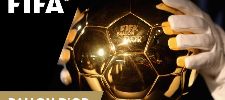 Ronaldo, Messi, Neymar on shortlist for Ballon d'Or