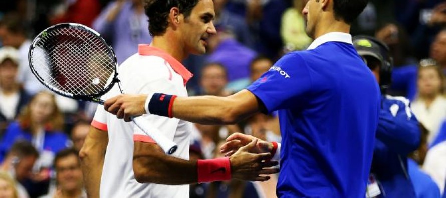 Djokovic, Federer in race to be first $100m man