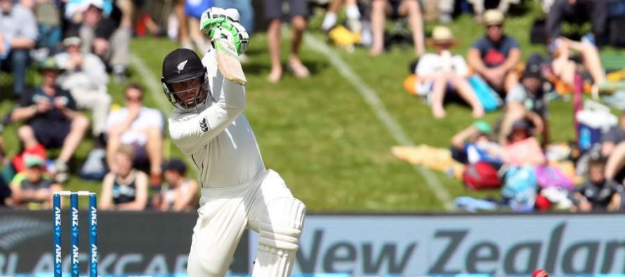 New Zealand 409-8 at stumps against Sri Lanka