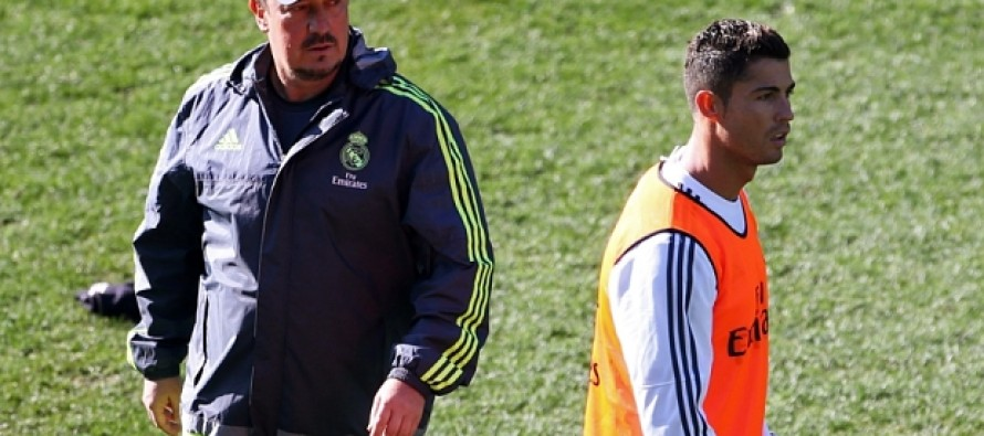 Give Benitez time, pleads record-breaker Ronaldo