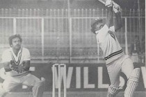 Javed Miandad and Mudassar Nazar thrash India