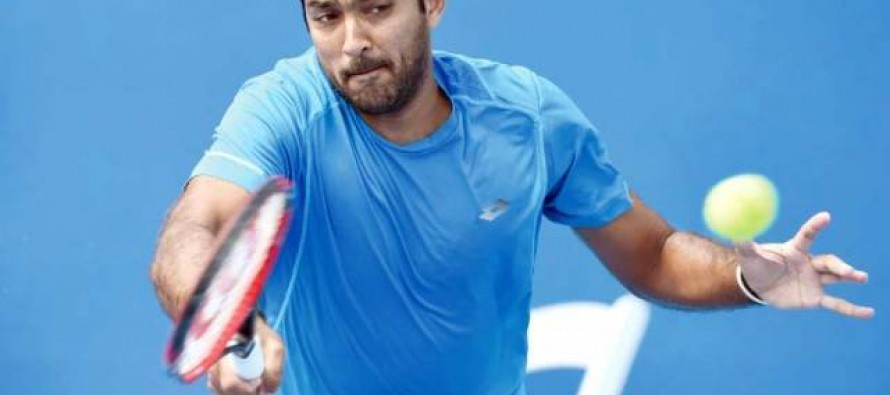 Aisamul Haq  out of Australian Open in the first round