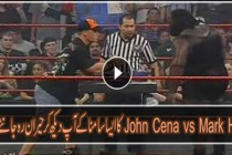 WWE John Cena vs Mark Henry Arm Wrestling