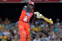 Gayle goes out with a bang, 50 off record 12 balls