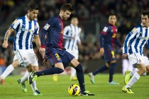 Barca cruise into Cup quarters with derby win