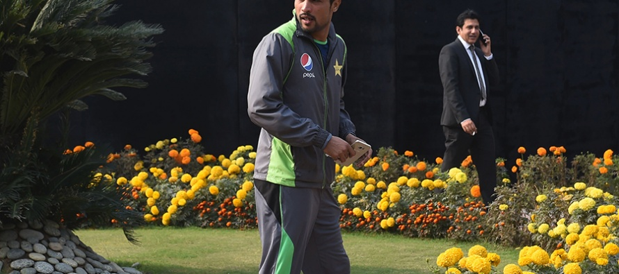 The flying Mohammad Amir