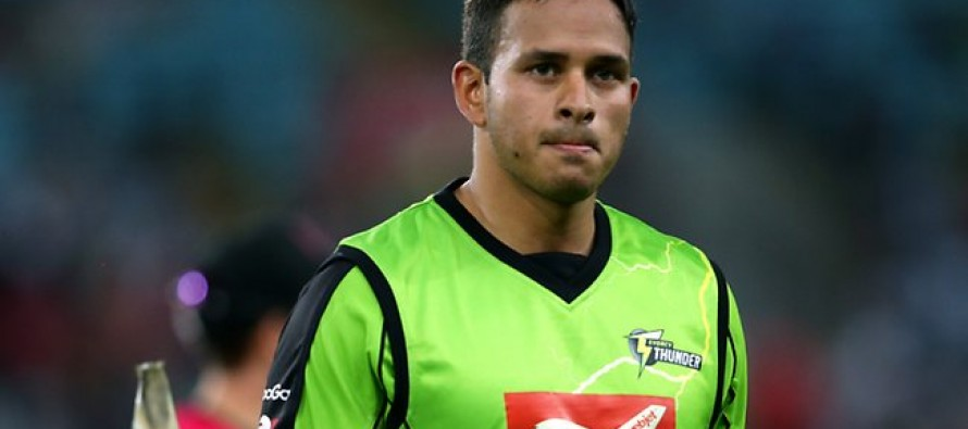 Khawaja in for final India T20 after Finch injured