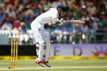 Cook falls after solid start