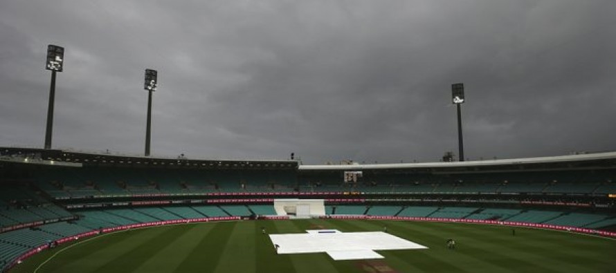 Fourth day's play abandoned in Sydney Test