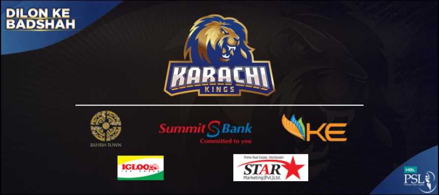 Bahria Town and Karachi Kings join hands
