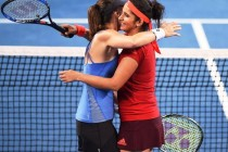 Mirza and Hingis set world record