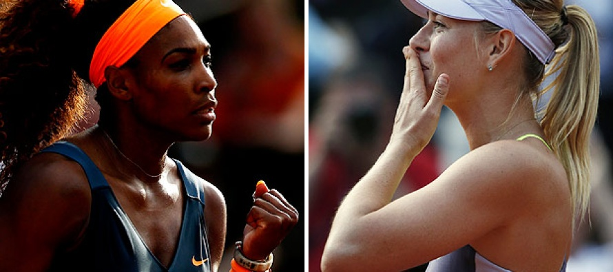Williams v Sharapova head-to-head record