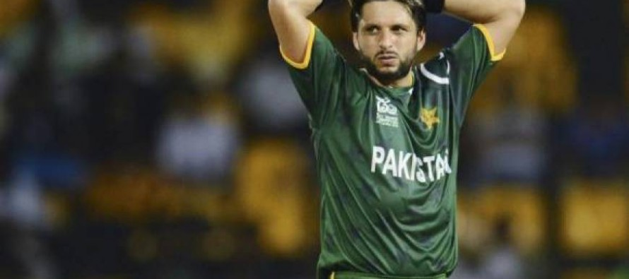 Shahid Afridi unhappy with media personnel