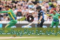 Pak vs Nz 1st ODI 2016: Muhammad Amir took 3 Wickets against New Zealand