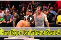 Roman Reigns & Dean Ambrose vs. Sheamus & Rusev: Raw, January 25, 2016