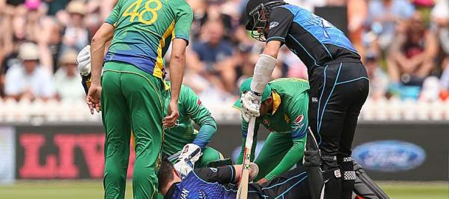 Kiwi quick says bouncer blows are 'part of game'