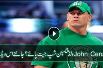 John Cena challenges his opponents for a champion ship match