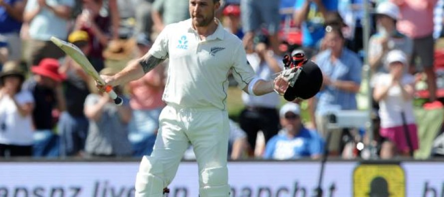 McCullum hammers fastest century in his last test match