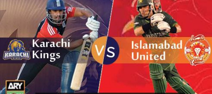 LIVE: Karachi Kings vs Islamabad United- Eliminator