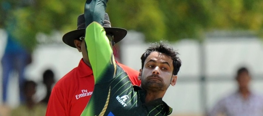 Hafeez barred from bowling in PSL