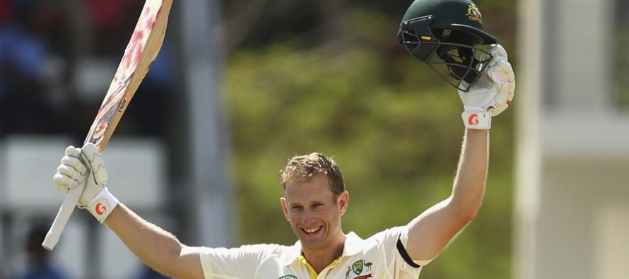 Adam Voges keeps setting new records for Australia