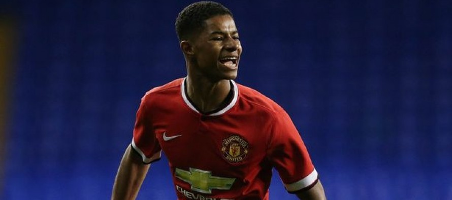 Carrick hails United debut star Rashford