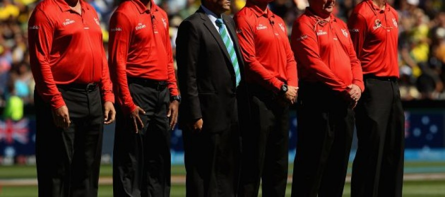 ICC announces the officials panel for ICC WT20