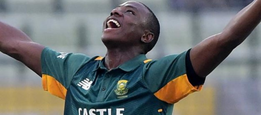 South Africa's Rabada signs for Kent