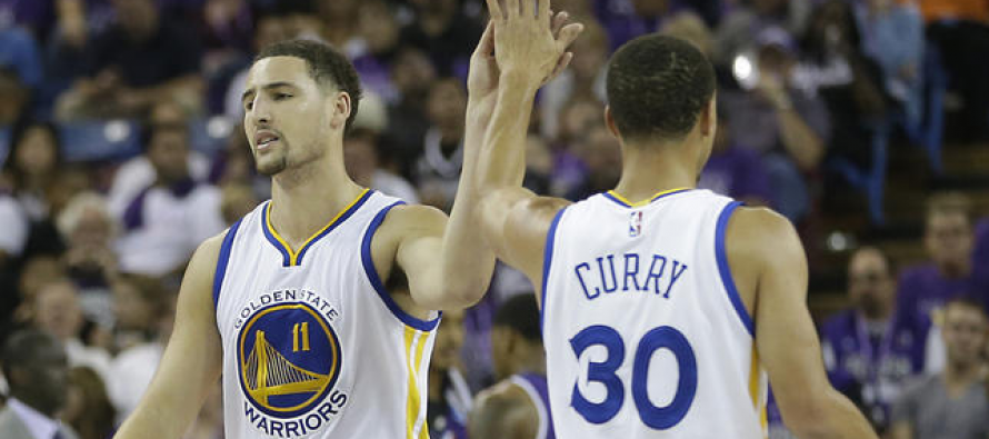Warriors dynamic duo cools off Heat